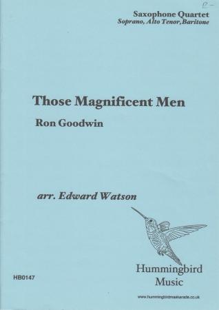 THOSE MAGNIFICENT MEN (score & parts)