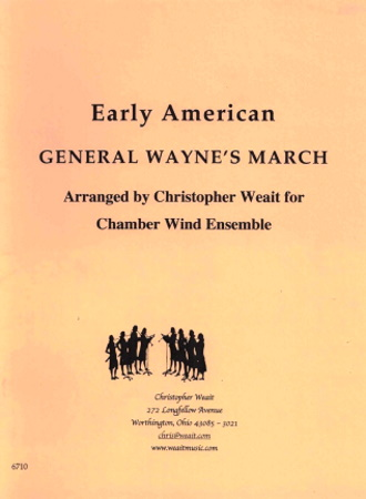 GENERAL WAYNE'S MARCH