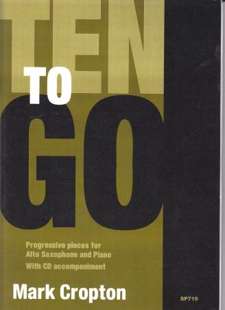 TEN TO GO + CD progressive pieces