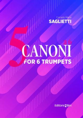 5 CANONI a 6 (score & parts)