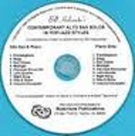CONTEMPORARY ALTO SAX SOLOS in pop/jazz styles CD