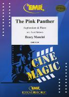 THE PINK PANTHER treble/bass clef