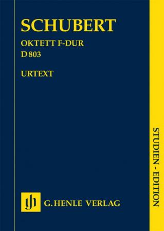 OCTET in F major, D 803 (study score)
