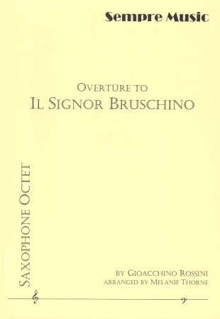 IL SIGNOR BRUSCHINO Overture (score & parts)