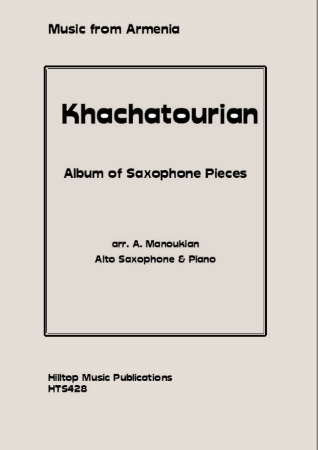 ALBUM OF SAXOPHONE PIECES