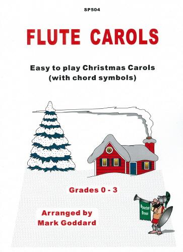 FLUTE CAROLS with chord symbols