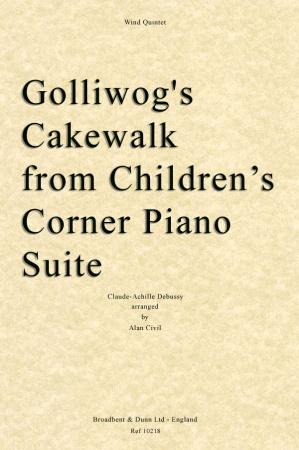 GOLLIWOG'S CAKE-WALK (score & parts)