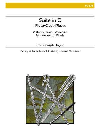 SUITE in C major (Flute-Clock Pieces)