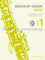 GRADE BY GRADE Oboe Grade 1 + CD