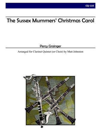 SUSSEX MUMMERS CHRISTMAS CAROL (score & parts)
