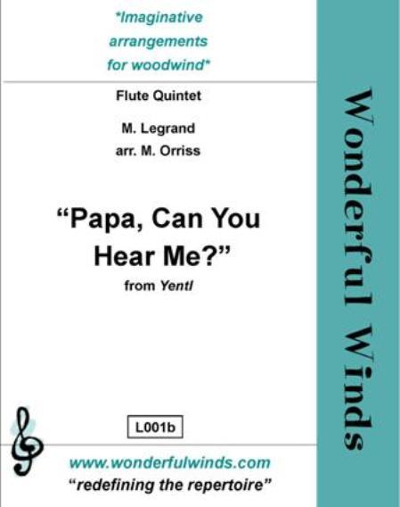 PAPA CAN YOU HEAR ME? (score & parts)