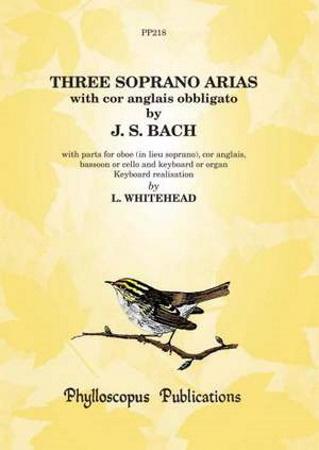 THREE SOPRANO ARIAS score & parts