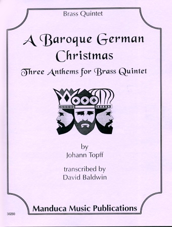 A BAROQUE GERMAN CHRISTMAS 3 anthems