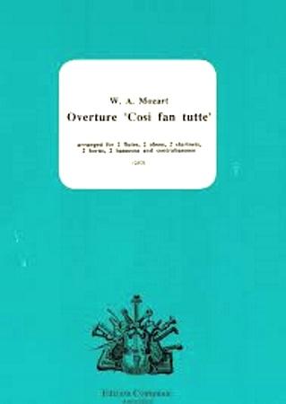 OVERTURE Cosi fan Tutte (score & parts)