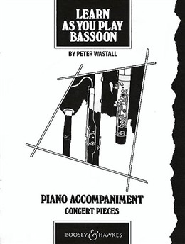 LEARN AS YOU PLAY BASSOON Piano Accompaniment