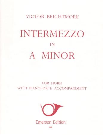 INTERMEZZO in A minor