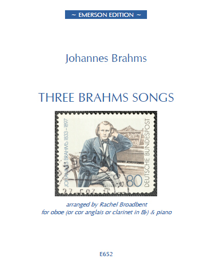 THREE BRAHMS SONGS