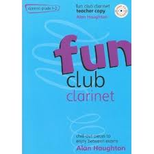 FUN CLUB CLARINET Grade 1-2 Teacher Copy + CD