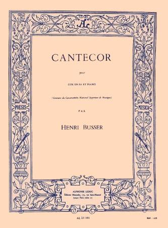 CANTECOR Op.77