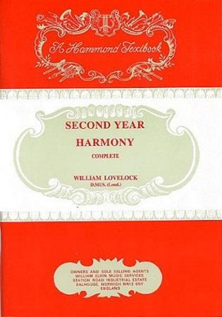SECOND YEAR HARMONY