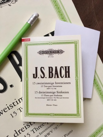 STICKY NOTES J.S. Bach - Inventions & Sinfonias