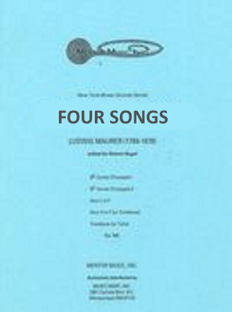FOUR SONGS FOR BRASS