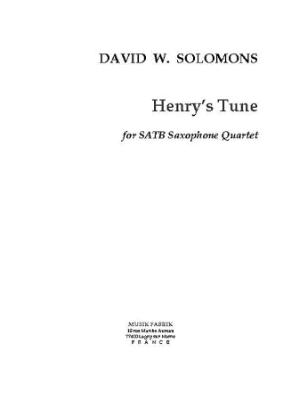 HENRY'S TUNE