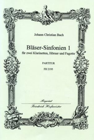BLASER-SINFONIEN Volume 1 Nos.1-3 (score)