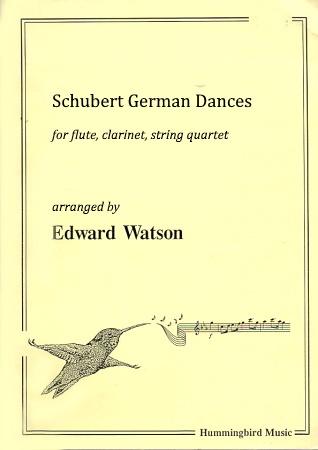 SCHUBERT GERMAN DANCES (score & parts)