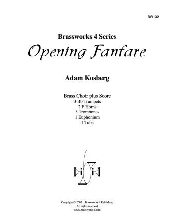 OPENING FANFARE