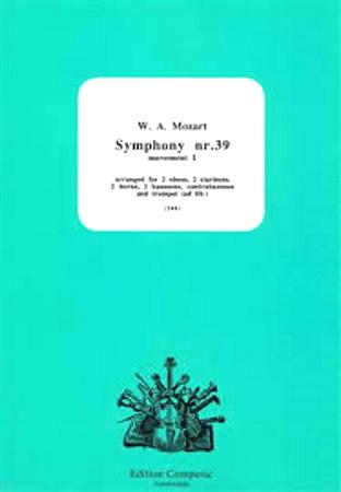 SYMPHONY No.39 First Movement (score & parts)
