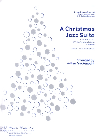 A CHRISTMAS JAZZ SUITE (score & parts)