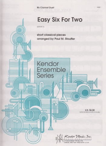 EASY SIX FOR TWO  classical pieces