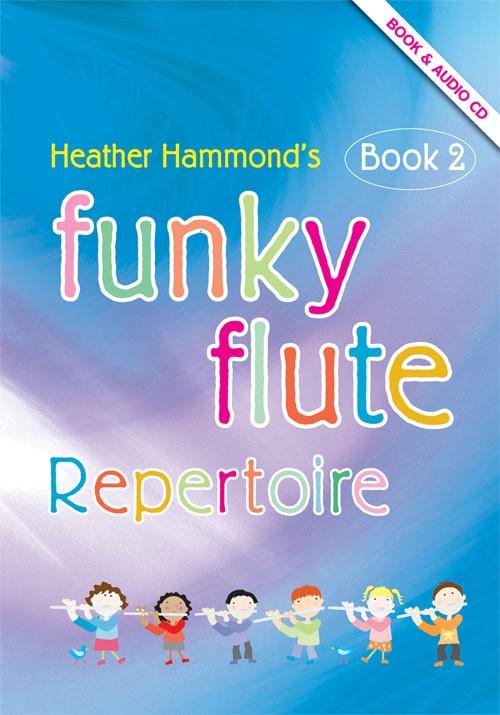 FUNKY FLUTE Repertoire Book 2 + CD