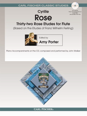 THIRTY-TWO ROSE ETUDES for Flute + CD