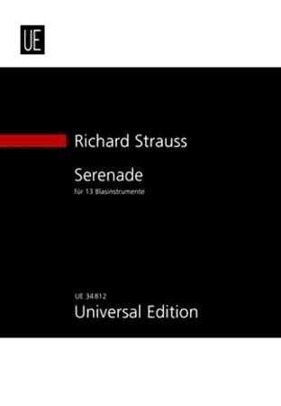SERENADE Op.7 (study score)