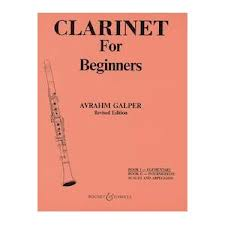 CLARINET FOR BEGINNERS Volume 1