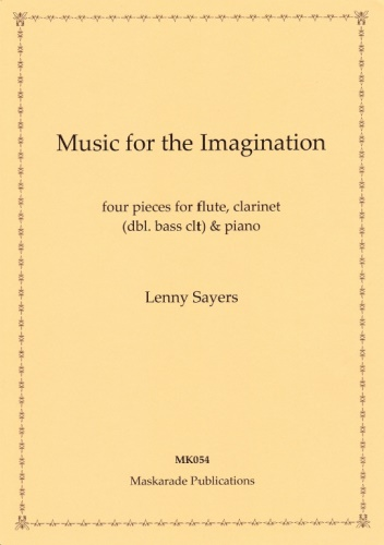 MUSIC FOR THE IMAGINATION (score & parts)