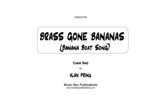 BRASS GONE BANANAS (score & parts)
