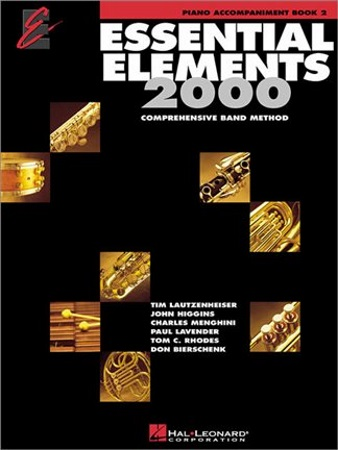 ESSENTIAL ELEMENTS Book 2 Piano Accompaniment