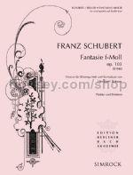 FANTASIE in f minor Op.103