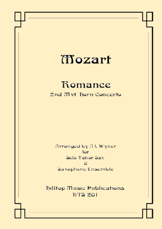 ROMANCE from Horn Concerto No.3 K447