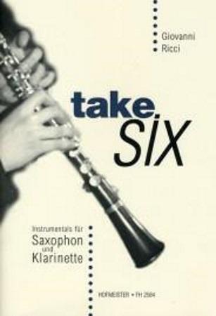 TAKE SIX with chord symbols