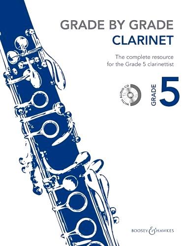 GRADE BY GRADE Clarinet Grade 5 + CD