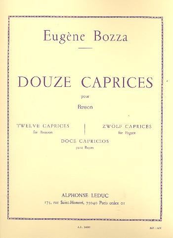 DOUZE CAPRICES