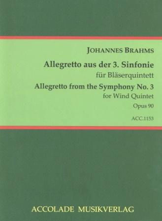 POCO ALLEGRETTO from Symphony No.3 score & parts