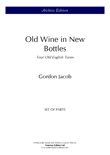 OLD WINE IN NEW BOTTLES (set of parts)