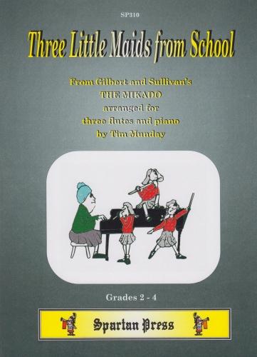 THREE LITTLE MAIDS FROM SCHOOL