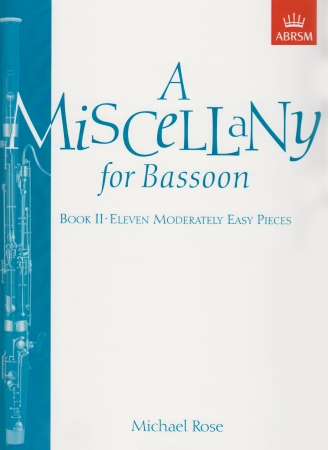 A MISCELLANY FOR BASSOON Book 2