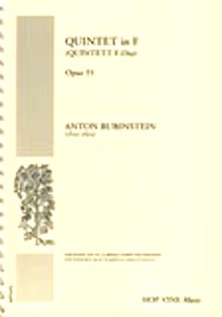 QUINTET in F, Op.55